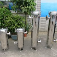 广州美乐多公司专用乳酸菌饮品过滤器高效精滤袋式过滤器成本低品质好