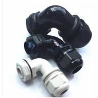 昆山蓝江电气弯角电缆固定头-90°直角型/尼龙电缆接头厂家直销
