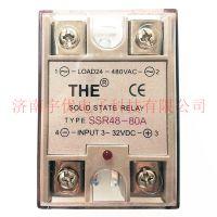 原装正品【无锡天豪THE】固态继电器 SSR48-80A单向交流