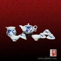 陶瓷茶具套装礼品、青花瓷茶具