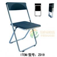 简约培训椅折叠会议椅培训班用椅餐厅椅塑料招待椅折叠椅