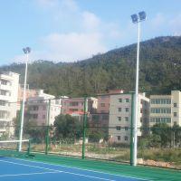 珠海公园灯杆安装设置 学校球场灯杆上门安装