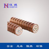东营汉能 柔性防火电缆低压CU芯低烟无卤阻燃电缆矿物绝缘线缆