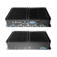 BK-BOXPC-N2800E鑫博控6*COM RS232双网口免风扇优质全铝工控机