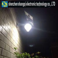 深圳商企路灯厂家9W一体化太阳能月光灯 太阳能一体化壁灯 太阳能一体化感应庭院灯9W SQ-T09