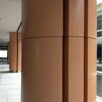 超强的耐候性和腐蚀性使得包柱铝单板成为装饰艺术界的亮点