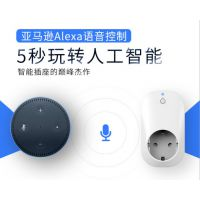 wifi智能远程插座/SC71/功率计量插座/定时控制/支持亚马逊alexa语音控制