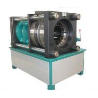 供应榆林市胶管缩头机,鸿源涤纶复合管扣压机价格