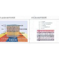 透水地坪胶结剂 无砂混凝土增强剂 北京德昌伟业厂供