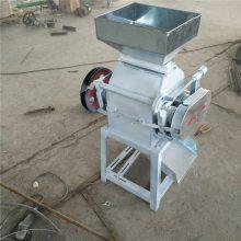 信达芝麻破碎机 五谷杂粮挤扁机 家用小型麦片机