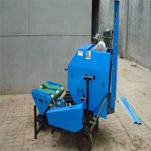 维修简单易操作打捆包膜机 玉米秸秆压块机 浩发供应