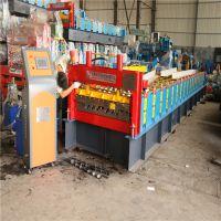 集装箱活动房瓦楞板侧板成型设备 集装箱板压瓦机 地鑫定制瓦楞机