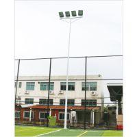江门足球场灯杆哪里定做 室外球场照明灯杆高度 柏克高杆灯批发