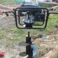 四轮牵引式打孔机 冻土专用挖坑机 冰面钻眼机