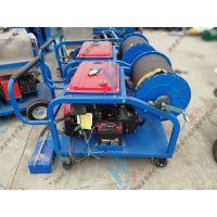 燃油驱动下水管道疏通机 工业设备高压水流清洗机 宏兴牌