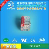 接线头PCT-252Y 万能接线端子 建筑硬导线2.5平方2孔电线连接器