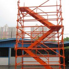 安全爬梯箱式梯笼框架爬梯宏祥机械厂