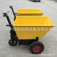 厂家直销 电动手推车 工地用车 便携式电动平板推车 物流运输车