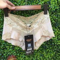 佳来频普正品内裤女低腰提臀能量石底裤性感蕾丝边三角裤夏季