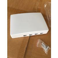 飞锐4口光纤终端盒4芯光纤面板四口光缆终端盒