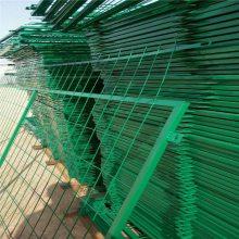 铁路防护栅栏 绿色围栏网 道路施工围栏