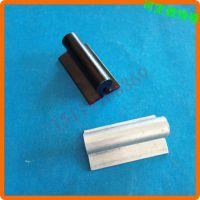 中山五金加工厂-油烟机铝拉手-几字形开槽提手-氧化黑铝件