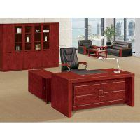 实木老板桌油漆办公桌总裁主管桌经理大班台