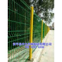 市政道路隔离护栏网 园林围墙铁栅栏围墙网铁围栏