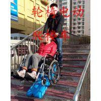 轮椅电动升降车 残疾人爬楼车 启运无障碍设备厂家定制铁岭市 江苏履带爬楼车