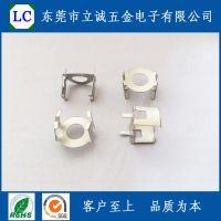 P1811铜夹,POT18磷铜外壳,东莞五金冲压件,磷铜镀锡。