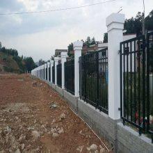 珠海新农村栅栏防护栏 广州锌钢栅栏厂家 韶关工地围墙围栏
