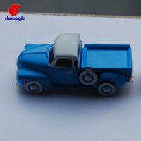 塑料小车优盘定制 注塑小玩意装饰品 创意汽车u盘模型摆件