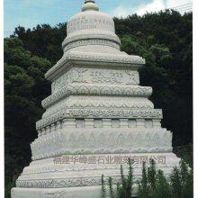 专业大型石雕舍利塔设计制作|藏式涅槃塔石雕|花岗岩石雕佛塔