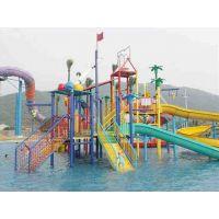 广州鸿波水上乐园设备 水上游乐设施大型水屋