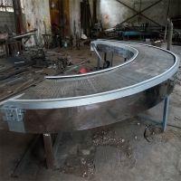 山东强盛机械厂常年生产各种网带式转弯输送机 移动式网带转弯机