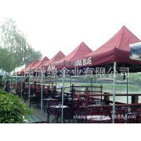 加工定做折叠式四角帐篷、户外广告四脚太阳伞生产厂家