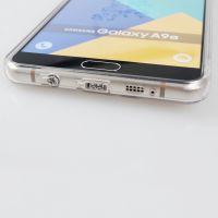 提供合之源生产三星2017款A5二合一手机壳带防尘塞,透明壳4.7寸,TPU+PC手机保护套