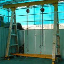深圳辉煌 HH-117 广州厂家定制移动吊架 小型龙门吊 模具起重机