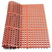 青岛橡胶地垫厂家供应抗疲劳橡胶地垫脚垫耐油车间用防滑地垫