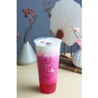 塑料奶茶杯定制PP杯一次性奶茶杯模内贴标杯注塑杯加厚定制