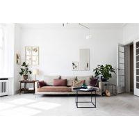 居乐高装饰昆明130平开放式极简风公寓白色控的福音
