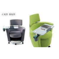 供应深圳众晟家具ZS-SF01布艺沙发培训椅