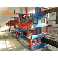 芜湖管材货架 ZY2018022602 管道存放 伸缩式悬臂货架厂家