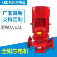 贵州国标消防泵立式单级单吸消防泵XBD3.2/10-100