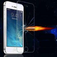 手机膜iPhone 5钢化膜 0.26mm超薄防刮iPhone 5钢化玻璃膜 贴膜