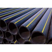 山东聊城恒泰实业生产黑色HDPE燃气管材 HDPE沼气管 型号20-630