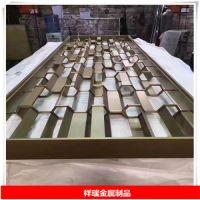 专业生产青古铜纳米不锈钢花格 201激光切割青古铜花格厂家 纳米青古铜切割玄关花格