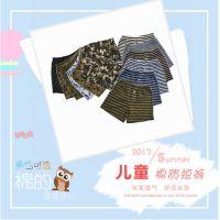 夏季新品男宝内穿外穿棉短裤 中大童男童印花休闲内裤