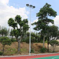 钦州市篮球场灯杆与球场距离 室外篮球场用什么灯合适 灯杆安装施工方案
