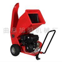 热销果园林场枝条切片机XY-6300葡萄藤粉碎机绿化可移动碎木机